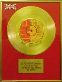 Queen - 24 Carat Gold 7 Inch Disc - You're My Best Friend…